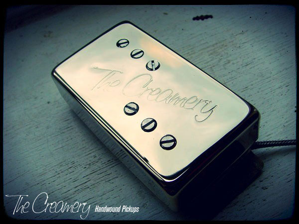 Creamery Custom Handwound Classic 71 Wide Range Humbucker Reproduction Pickups - Nickel Cover