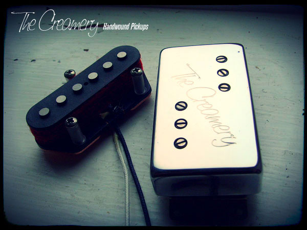 Creamery Custom Handwound Replacement '72 Custom Tele Pickup Set