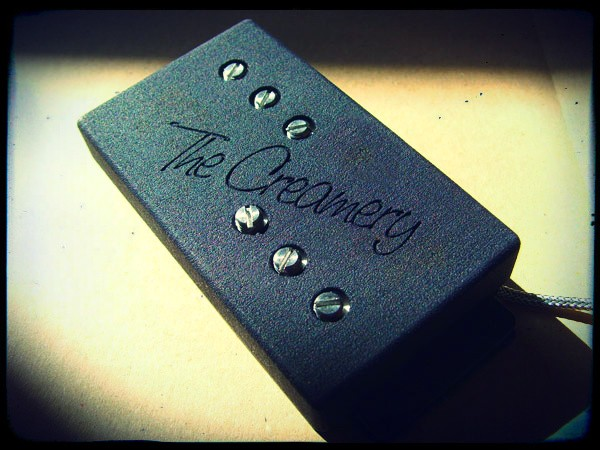 Creamery Custom Handwound Custom Modern Wide Range Humbucker Reproduction Pickups - Nickel and Aged Nickel Covers