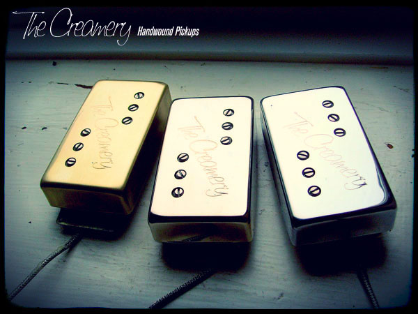 Creamery Custom Handwound Replacement '72 Custom Tele Neck Position Wide Range Humbucker