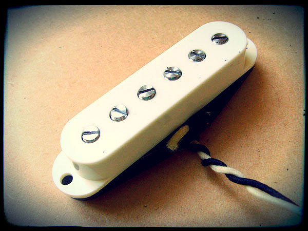 Creamery Custom Handwound Sonic-Six Custom Adjustable Pole Strat Pickup