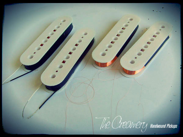 Creamery Wide Range Thinline Tele Humbucker Upgrade Custom Bobbins