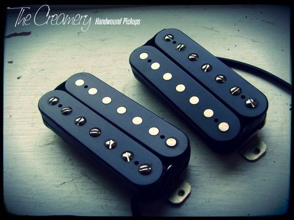 Creamery Fully Custom Shop Handwound 7-String Humbucker Set - Truly custom Seven String Humbucker Set