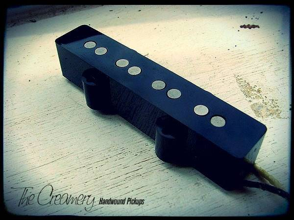 Creamery Custom Handwound Classic '60 Replacement Jazz J Bass Pickup - Plain Enamel