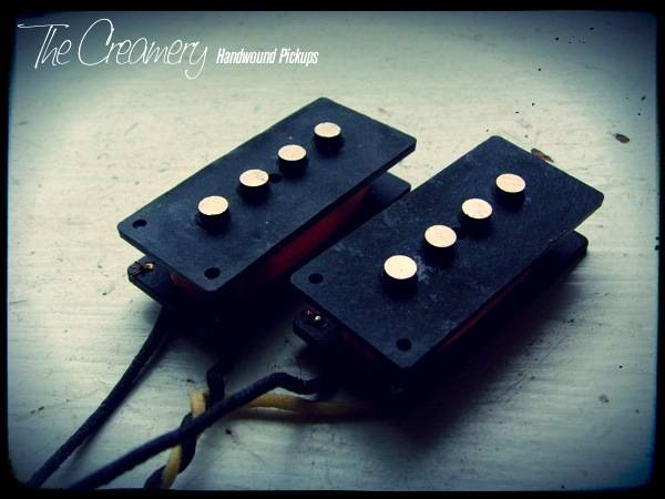 Creamery Custom Handwound Classic '65 Split-Coil Replacement Precision P-Bass Pickups
