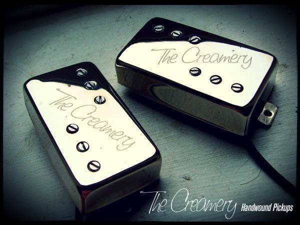 Creamery Custom Handwound Baby '71 - Vintage, True Spec Replacement Wide Range Humbucker Pickup Set Standard Humbucker Size