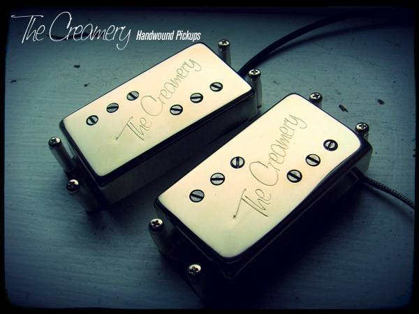 Creamery Custom Handwound Replacement Wide Range Starcaster Humbucker Pickup Set