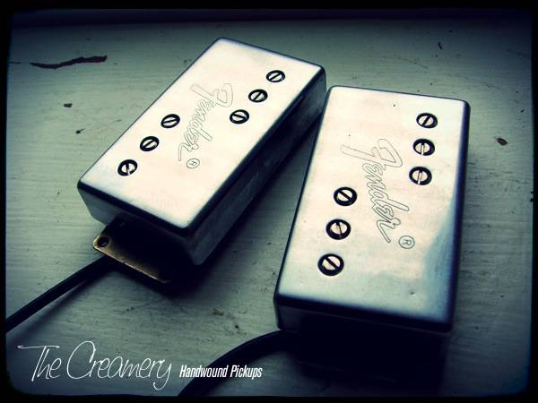 Creamery Custom Handwound Wide Range Humbucker Upgrade Set - Reissue Wide Range Upgrade to True Vintage Spec