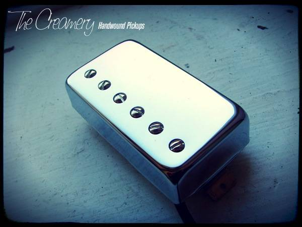 Creamery Custom '57 Handwound Replacement Humbucker Pickup - The Classic, Vintage Clean Humbucker Sound
