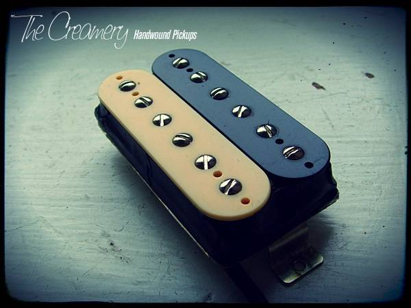 Creamery Custom Handwound Classic '83 - Hot, Overwound Hair Metal Humbucker