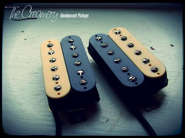 Creamery Custom Shop 'Double-Six' Replacement Alnico 5 & 8 Humbucker Pickup - Bridge or Neck Position