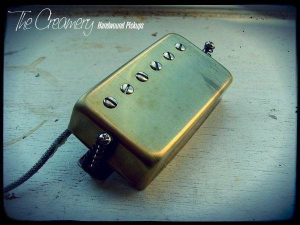 Creamery Custom Hollowbody Alnico 5 Humbucker Pickup