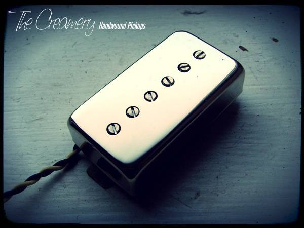 Sonic-Six Humbucker Sized Single Coil Pickup with individual Threaded Adjustable Alnico Rod Magnets