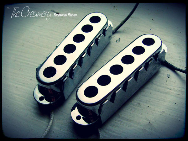Creamery Replacement Sonic '60 Pickups for Jag Jaguar