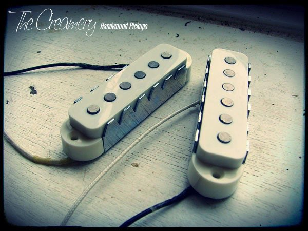 Creamery Custom Handwound Replacement Classic Jaguar Pickup Set with Steel Claws