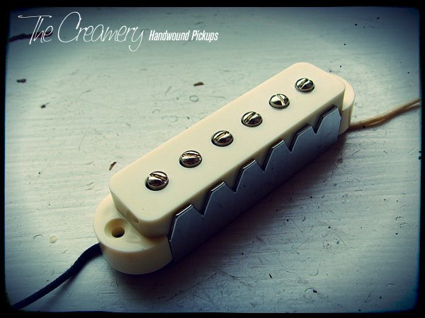 Creamery Custom Handwound Jag-90 Jaguar Sized P90 Pickup - Fatter, Hotter, Warmer, Grittier, Jaguar Pickup Tone
