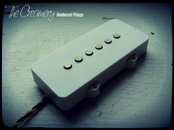 Creamery Custom Handwound Replacement Extra Width Jazzmaster Pickup - Warmer, Bluesier Tone