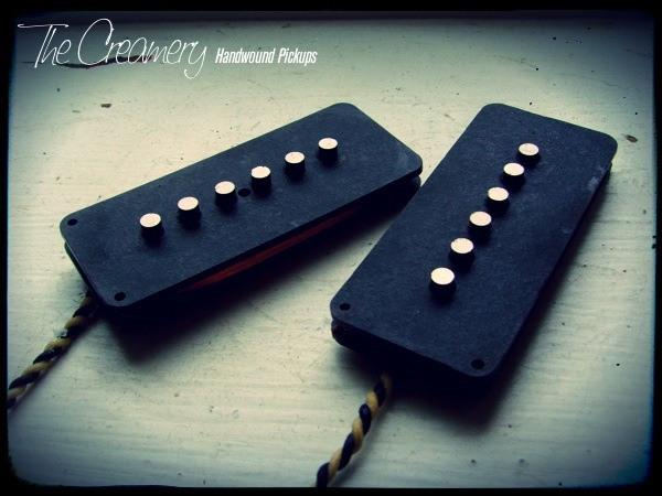 Creamery Custom Handwound Jazzmaster 'Dark Star' Pickup Set