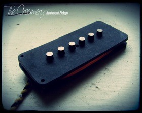 Creamery Handwound Higher Output Jazzmaster Pickups - Dark Star Jazzmaster