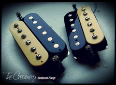 Creamery Custom Handwound Replacement Humbucker Pickups - Made in Manchester