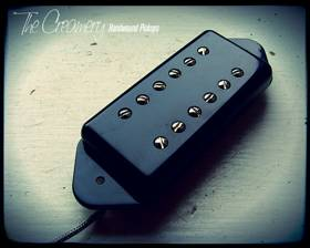PCreamery Custom Handwound Replacement P90 Sized Fat Humbucker for Dogear P90
