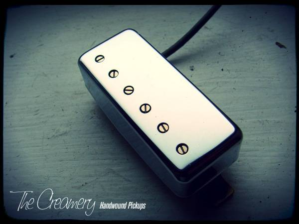 Creamery Classic Replacement Mini-Humbucker Pickup - The Classic, Vintage Clean, Clear & Defined Mini Humbucker Sound