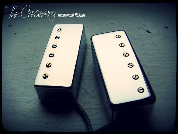 Creamery Classic Replacement Mini-Humbucker Pickup Set - The Classic, Vintage Clean, Clear & Defined Mini Humbucker Sound