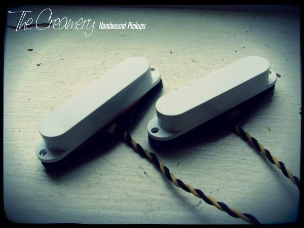 Creamery Custom Handwound Classic '64 Replacement Mustang / Duo-Sonic Pickup Set - The Classic, Vintage Single Coil Sounds