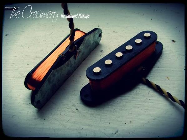 Creamery Custom Handwound 'Extra-Width' Mustang / Duo-Sonic Pickup Set