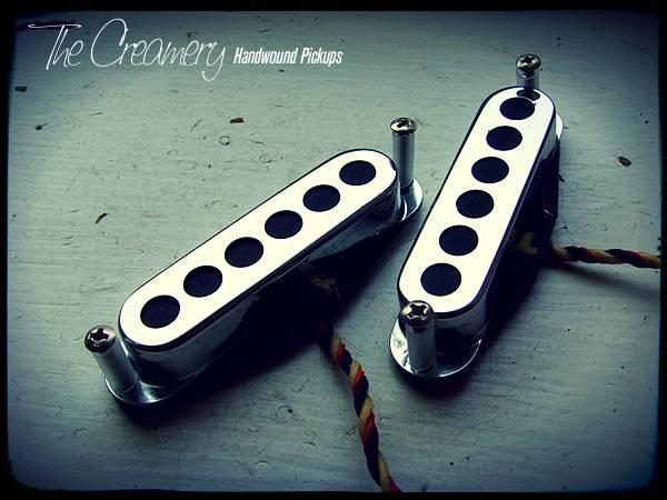 creamery custom handwound sonic 60 replacement pickup for Mustang guitar