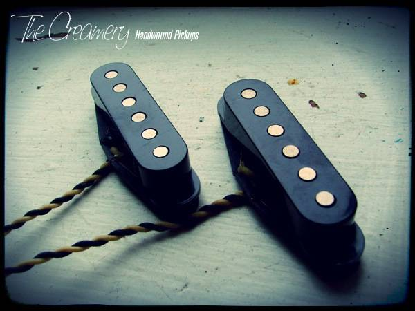 Creamery Custom Handwound Warmer, Fatter, Bluesier Sweet '74 Mustang / Duo-Sonic Set - A Higher Output Vintage Pickup Set