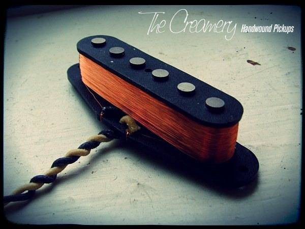 Creamery Custom Handwound Classic '64 Replacement Strat Pickup - The Classic, Vintage Strat Sound - Pre-CBS Strat Tones