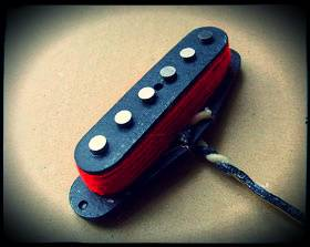 Creamery Custom Handwound Red 79 Stratocaster Pickups