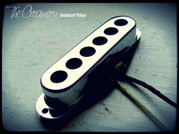 Creamery Custom Handwound Tri-Sonic Design Pickups to fit a standard Stratocaster Guitar - Strat Sized Tri-Sonic Pickups
