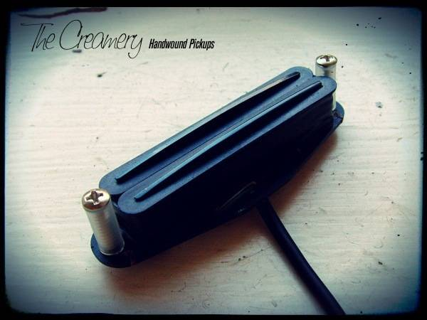 Creamery Custom Handwound 'Double-Track', Hum-Cancelling Replacement Strat Pickup for a Noiseless Strat Tone
