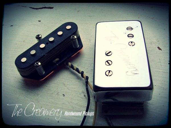 Creamery Custom Handwound '72 Tele Custom - Replacement Pickups - Balanced & Calibrated Sets Designed for the '72 Custom Telecaster & Reissues