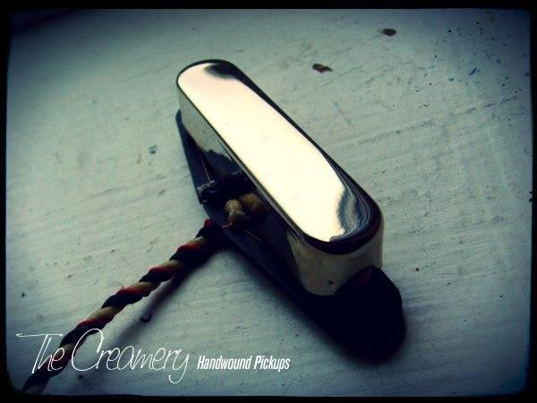 Creamery Custom Handwound Classic '64 Tele Neck Pickup - Pre CBS era Classic Tele Tone - Classic Tele Bridge Pickup