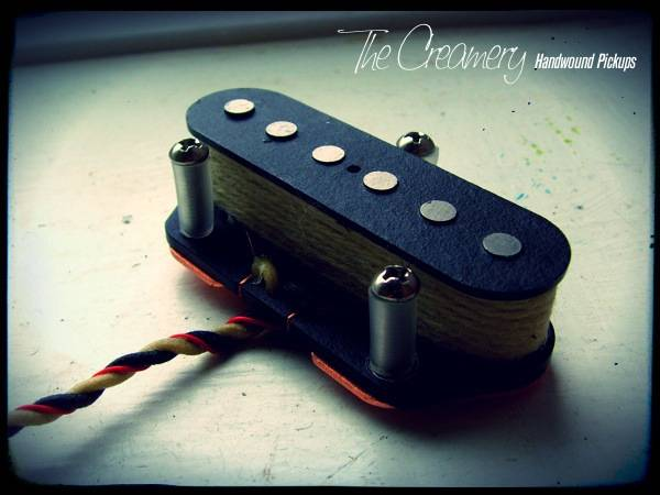 Creamery Custom Handwound Hot Replacement Tele Bridge Pickup - Overwound Replacement Tele Bridge Pickup