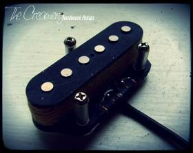 Creamery Custom Replacement Tapped Tele Telecaster Bridge Pickup