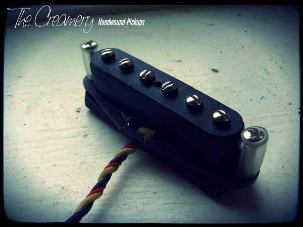 Creamery Custom Handwound Tele-90 - Tele Sized P90 Design Neck Pickup - Warmer, Grittier P90 Tone from a Tele Neck