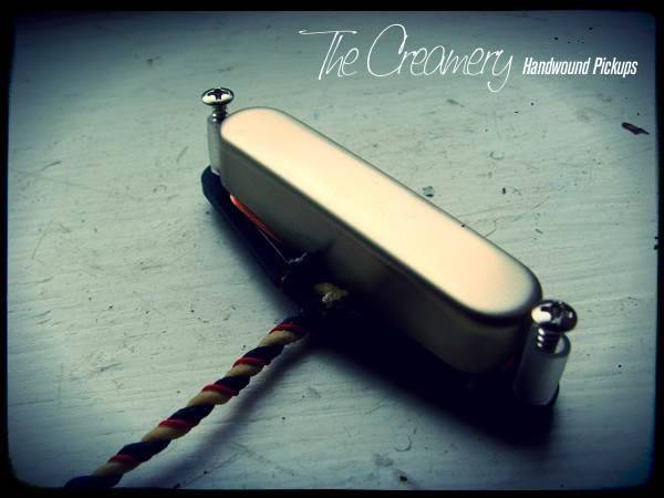 Creamery Custom Handwound Alnico 3 Vintage 1 Nocaster Tele Neck Pickup - Based on the Classic 'Nocaster' Tones