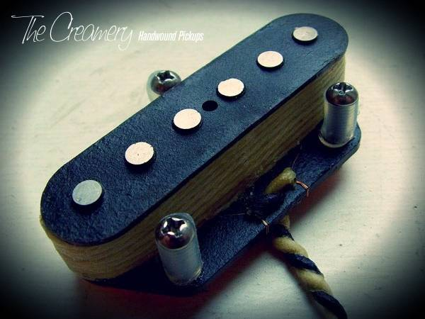 Creamery Custom Handwound Classic '67 Tele Bridge Pickup - CBS era Brighter, Underwound Tele Bridge Tone