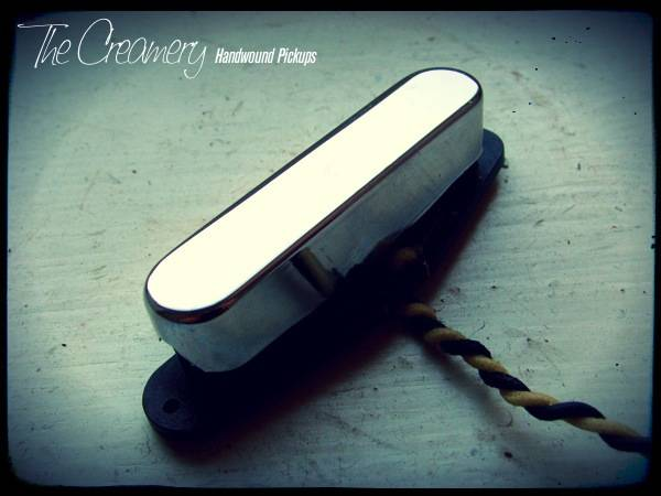 Creamery Custom Handwound 'Extra Width' Tele Neck - Custom Strat Tone Tele Neck Pickup - Twisted Tele Design