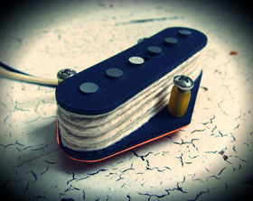 Creamery Custom Handwound Hot Telecaster Bridge Pickup