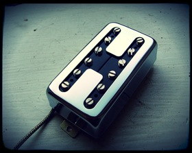 Creamery Handwound Single Coil Voiced Humbucker Pickups - Domino Hot Coil Pickup