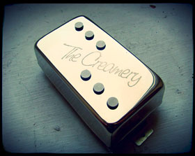 Creamery Handwound Single Coil Voiced Humbucker Pickups - Classic Domino Pickup