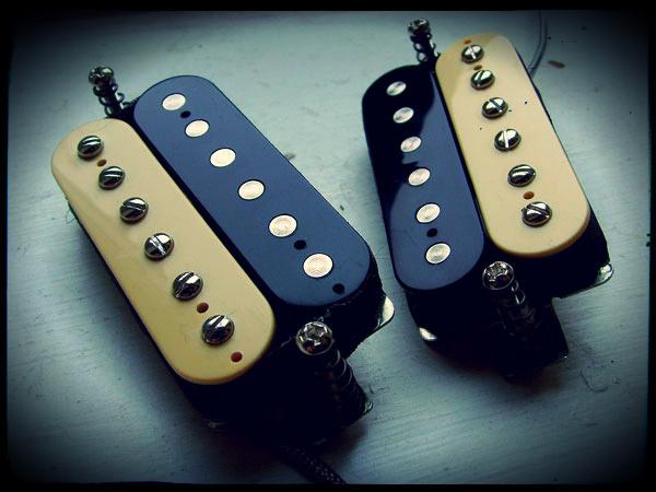 Creamery Custom Handwound Zebra Humbuckers Replacement Pickups