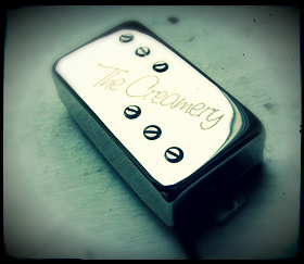 Creamery Wide Range / Thinline Humbucker Replacement Pickups - Baby 71 standard Humbucker sized