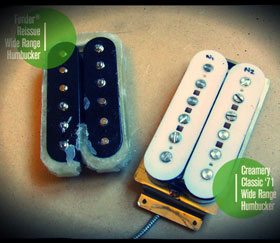 Modern Wide Range / Thinline Humbucker Reissue - Upgrade