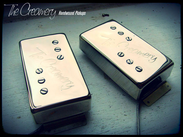 Creamery Custom Handwound Classic 71 Wide Range Humbucker Reproduction Pickups